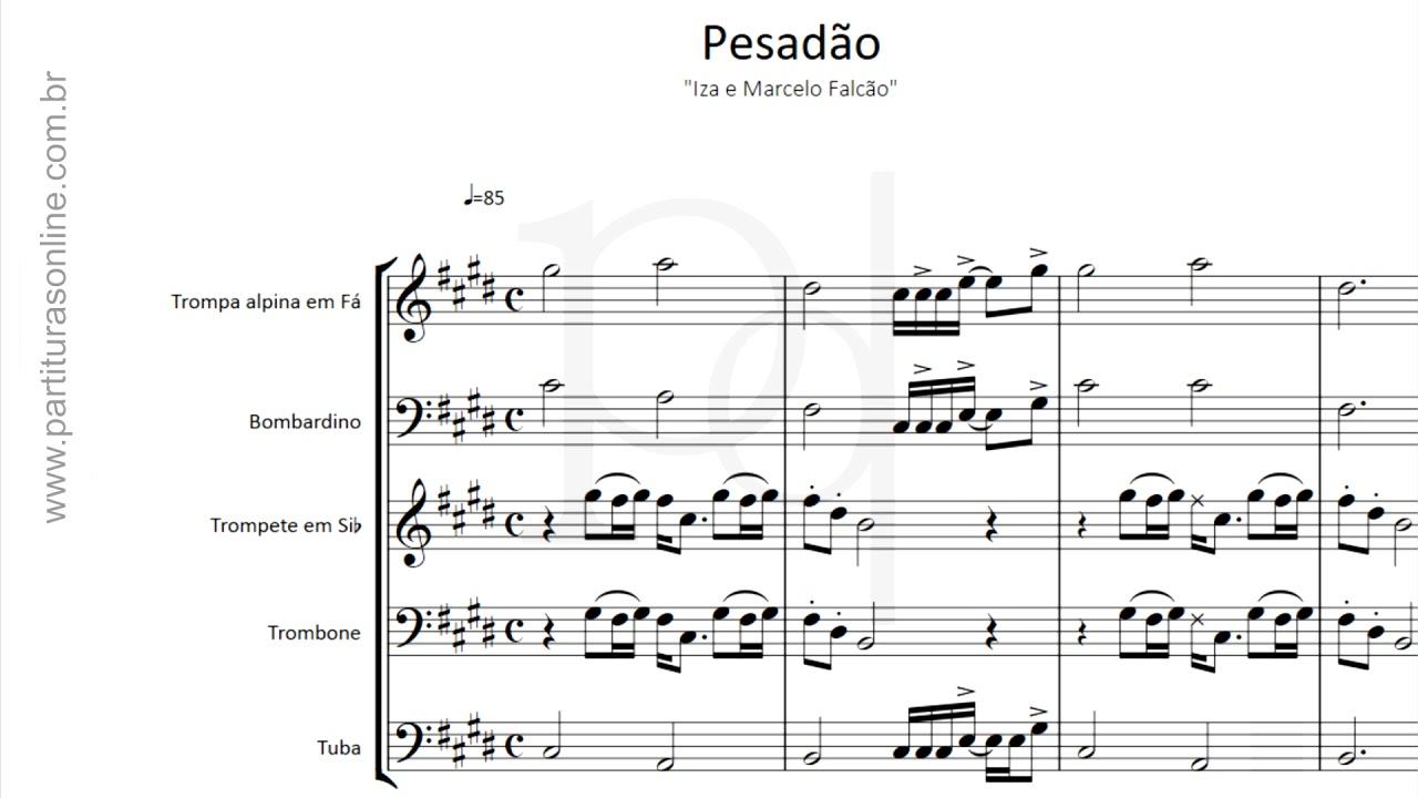 partituras para quinteto de metais