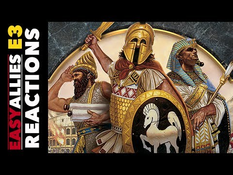 Age of Empires: Definitive Edition - Easy Allies Reactions - E3 2017