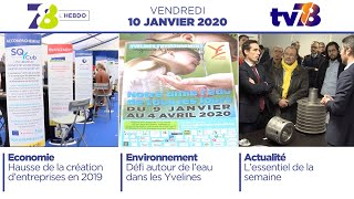 7/8 L'hebdo. Edition du vendredi 10 janvier 2020