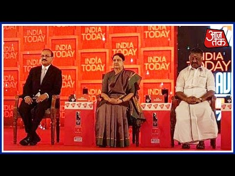 Sasikala Inaugurates India Today Conclave South With Special Tributes To Jayalalithaa