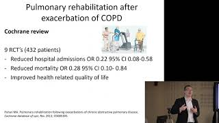 Management of COPD - 'The State of the Art' - Prof James Chalmers