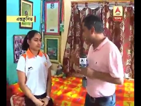 Exclusive interview of Dipa Karmakar with our correspondent Kuntal Chakroborty