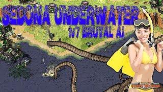 Sedona Global Worming - 1v7 BRUTAL AI ( Command & Conquer - Yuri's Revenge )