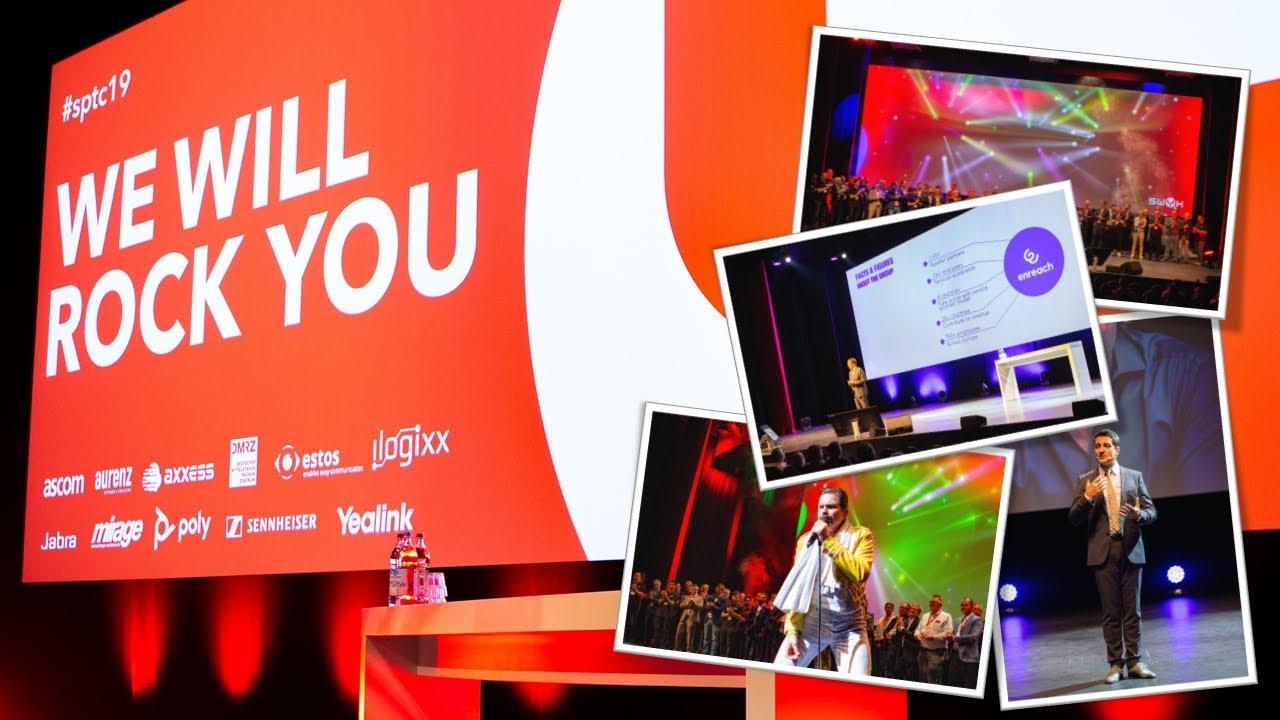 Swyx Partner und Technologiekonferenz 2019: We will rock you!