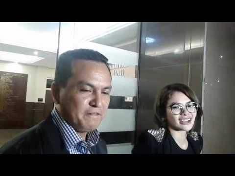 Nikita Mirzani Datangi Polres Jakarta Selatan Untuk Proses BAP
