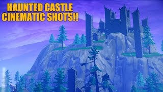 HAUNTED CASTLE *New Location* Cinematic Shots!!|Fortnite BR.