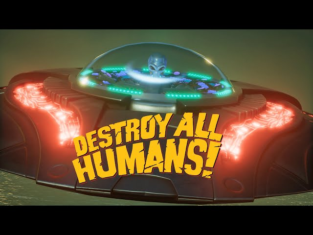 Destroy All Humans! - Crypto presents: Saucer Weapons