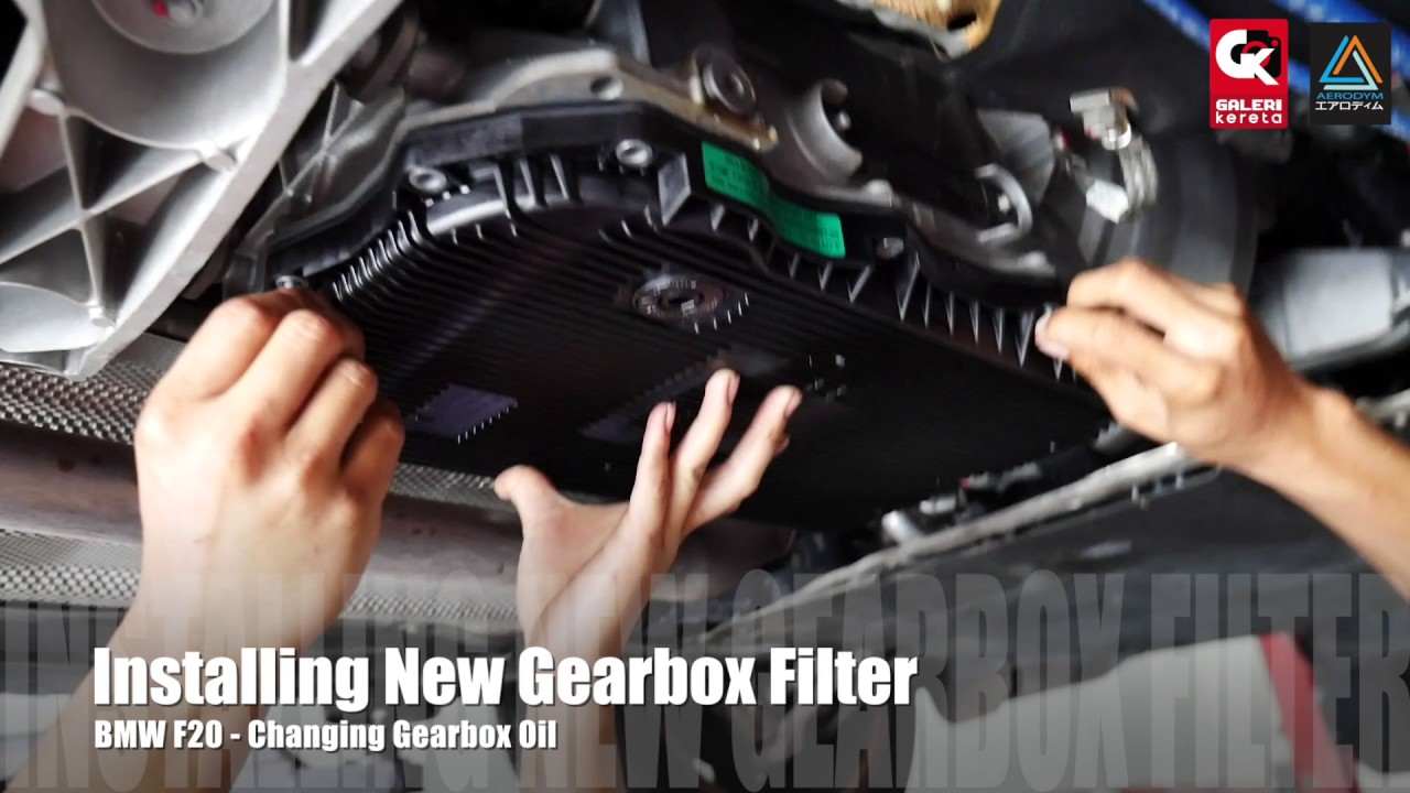 How to change gearbox oil bmw F20