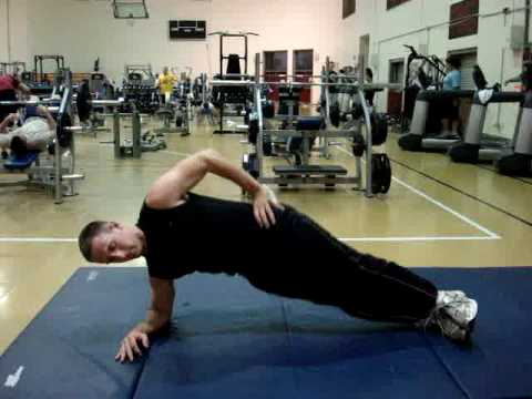 Side Plank Hip Lift - YouTube
