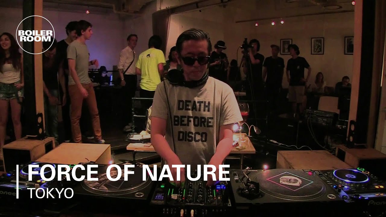 Force Of Nature Boiler Room Tokyo Mix - YouTube