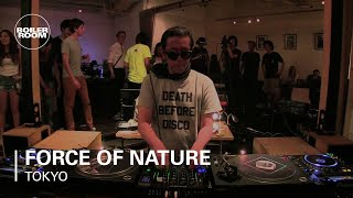 Force Of Nature Boiler Room Tokyo Mix