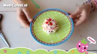 Kracie Popin' Cookin Happy Kitchen Birthday Cake Diy Candy Tutorial How To Mostcutest.nl