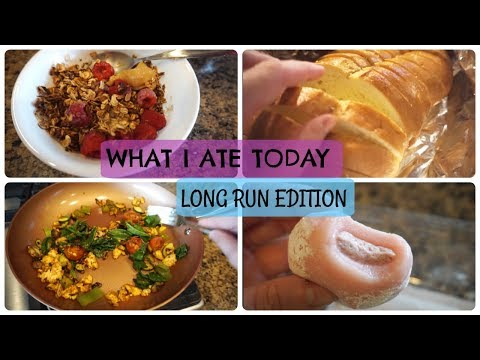 What I Ate Today - Long Run Day!