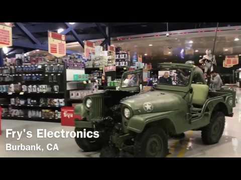 Fry's Electronics in Burbank, CA