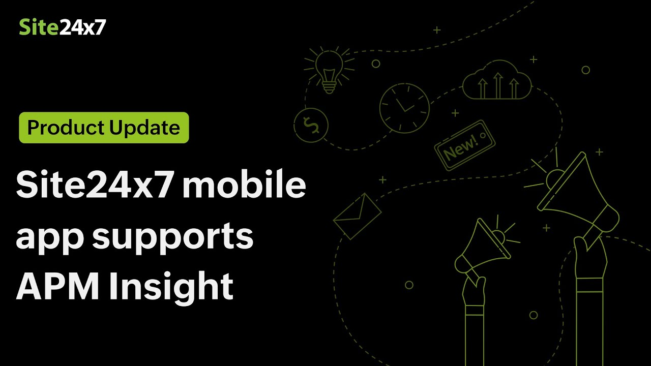 Site24x7 mobile app now supports APM Insight