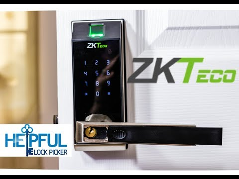 [188] ZKTeco AL20B Smart Lock Unboxed, Reviewed, and Picked!