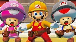 Super Mario Maker 2 - Story Mode Walkthrough Part 1