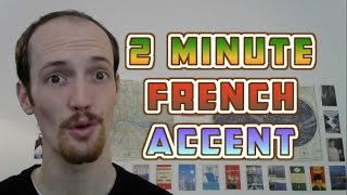 How To Do A Fręnch Accent In UNDER TWO MINUTES
