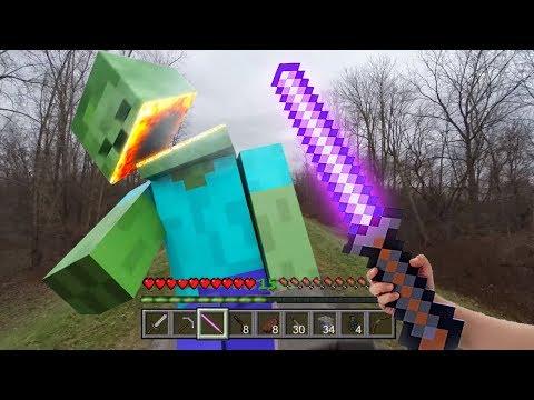 Майнкрафт в Реальной Жизни от Первого Лица Minecraft Real POV Minecraft In Real Life 創世神第一人稱真人版 13+