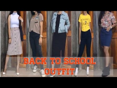 BACK TO SCHOOL OUTFIT! (LAHAT UKAY UKAY) | BJANE MEJOS PHILIPPINES