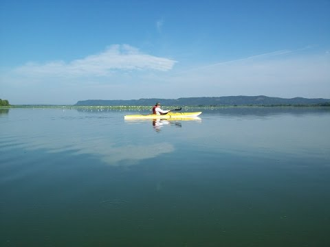 Paddling the Upper Mississippi Wildlife Refuge