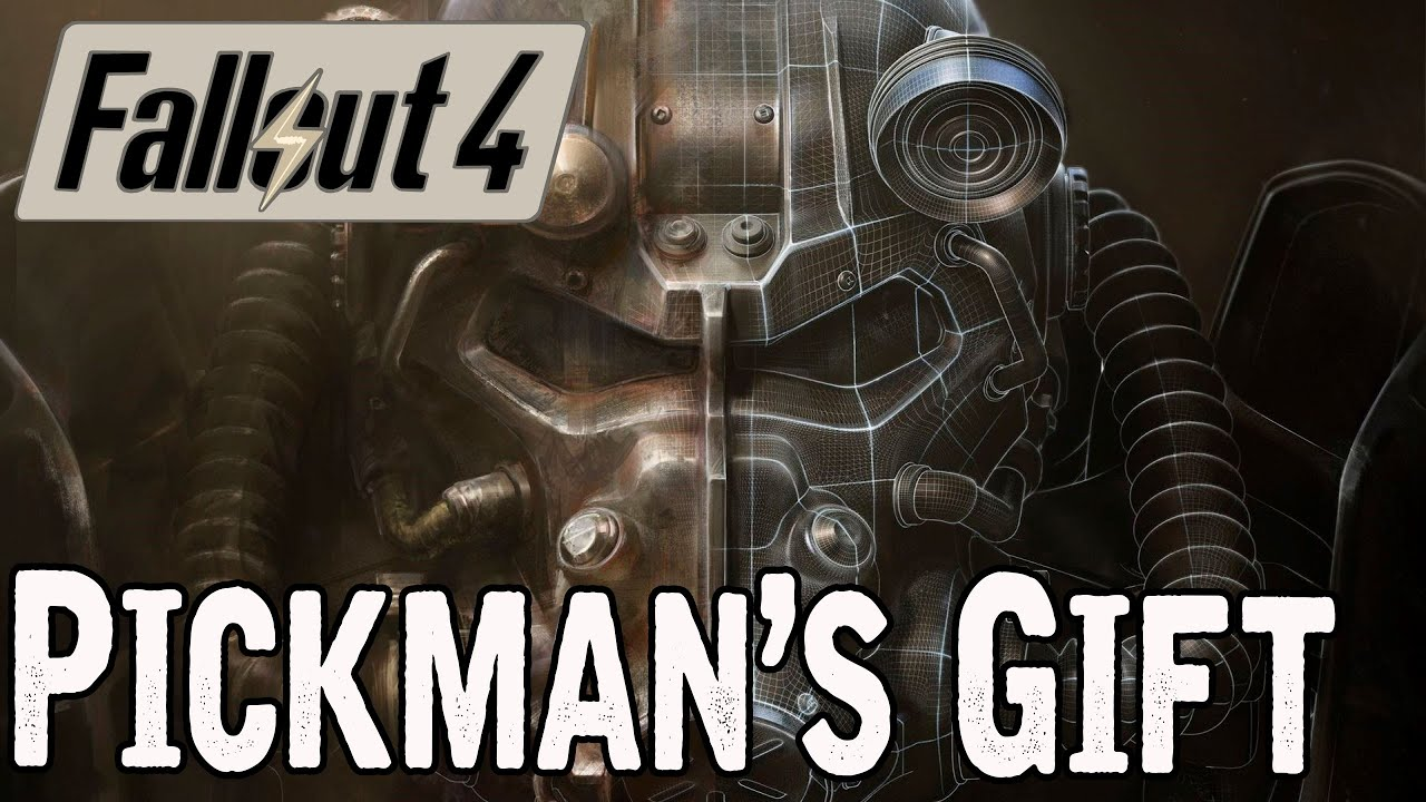 Fallout 4 Pickman's Gift Quest - YouTube