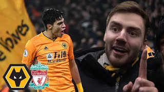 HOW DID WE LOSE THAT!? Wolves Vs Liverpool 2-1 Matchday Vlog