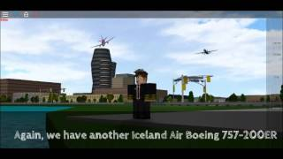 PLANE SPOTTING ON ROBLOX!!! (A Place With Airliners)