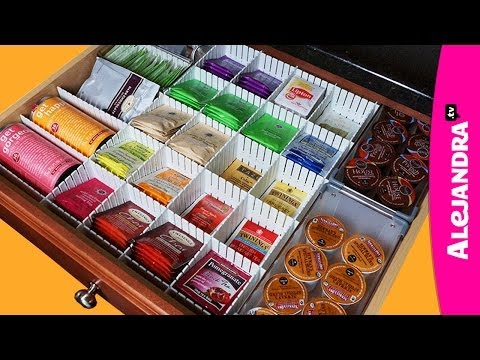 Kitchen Organization Ideas: How to Organize Coffee & Tea