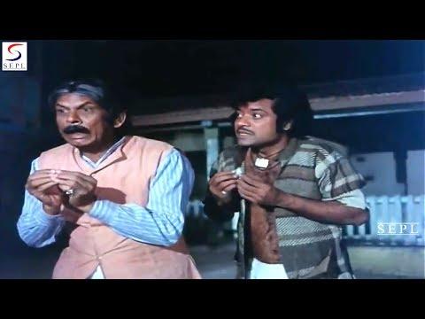 Johnny Walker, Jagdeep And Dharmendra   Best Comedy Scene   Pratiggya