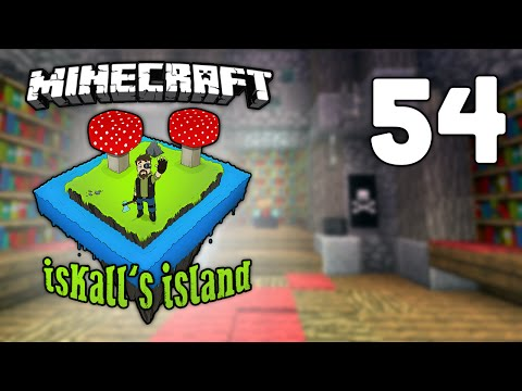 Iskall's Island - Vanilla Minecraft Lets Play - 54 - Ancient Library