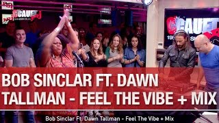 Bob Sinclar Ft. Dawn Tallman - Feel The Vibe + Mix - C'Cauet sur NRJ