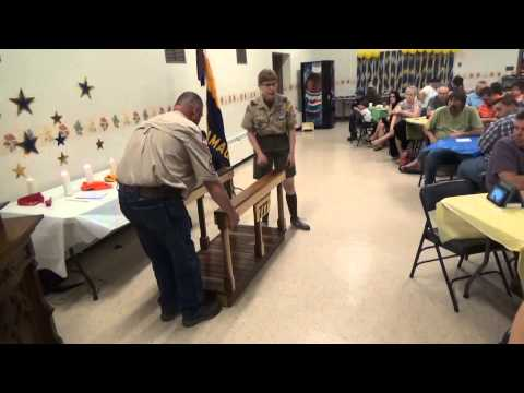 Blue and Gold Banquet, Cub, Boy Scout Troop 777, St John's UCC, Tamaqua, 5-9-2015