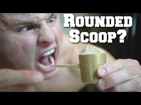 Whats Rounded Scoop Of Optimum Nutrition Protein