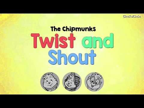 The Chipmunks - Twist and Shout (80s version, with lyrics)