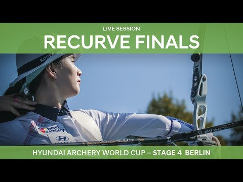 Full session: Recurve Finals | Berlin 2017 Hyundai Archery World Cup S4