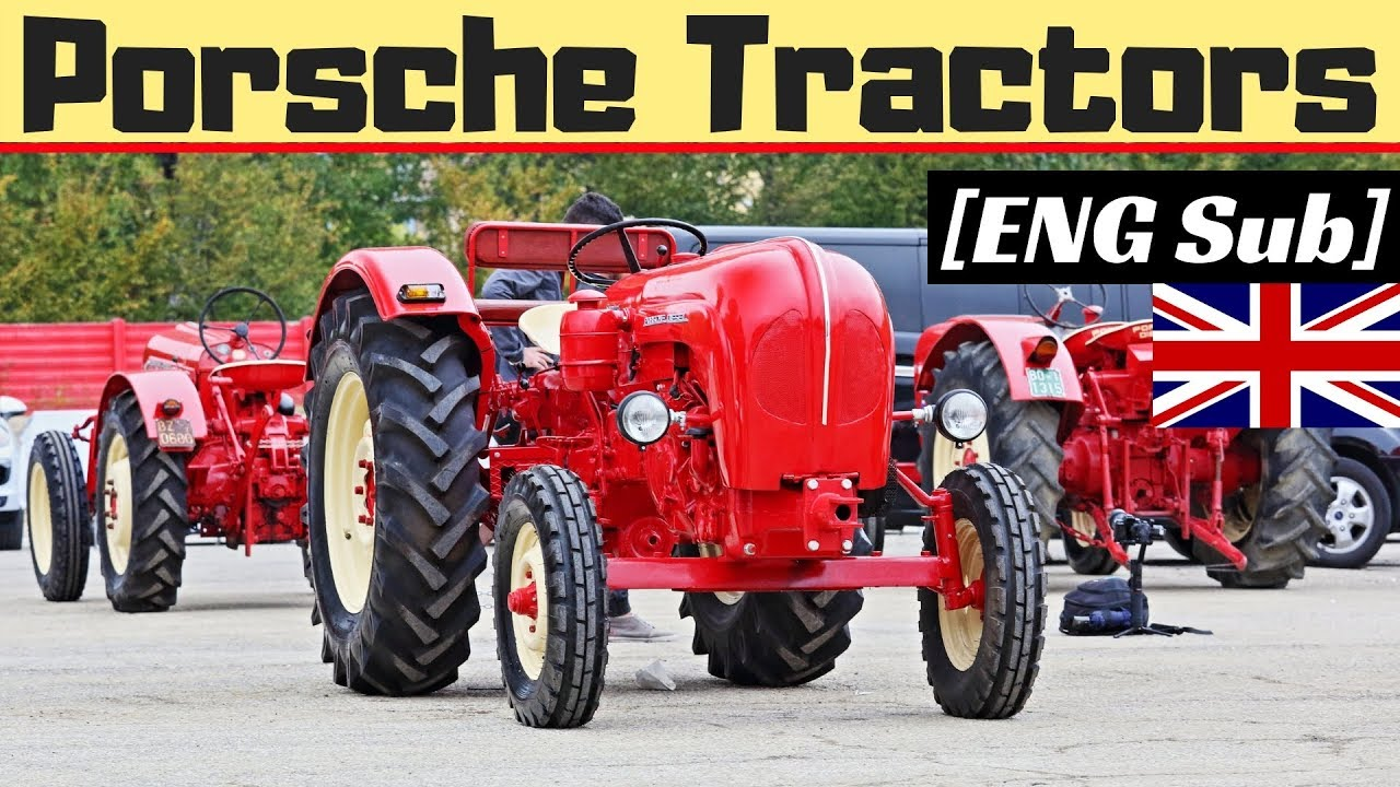 Porsche Festival 2018 70th Anniversary Porsche Tractors Expo At Imola Circuit Eng Sub Youtube