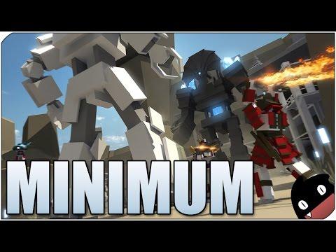 Minimum . Guerra de cubos gigantes