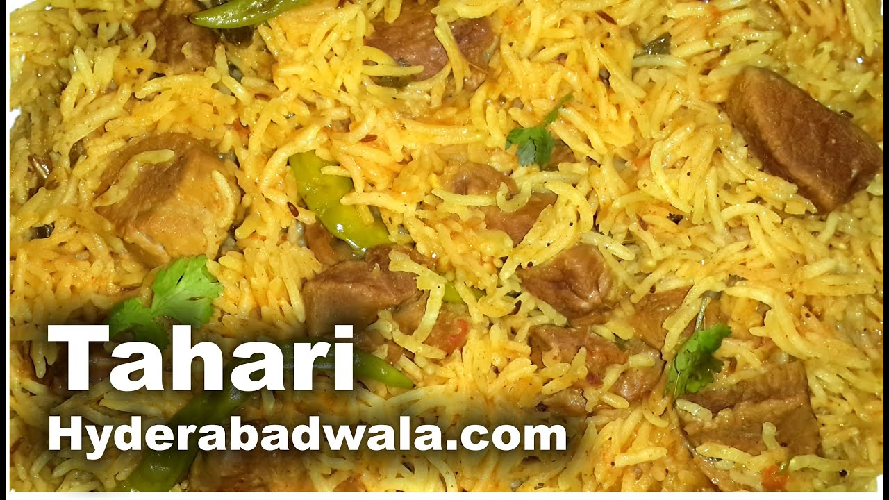 Mutton tahari recipe video hyderabadi mutton pulao simple easy mutton tahari recipe video hyderabadi mutton pulao simple easy quick cooking english youtube forumfinder