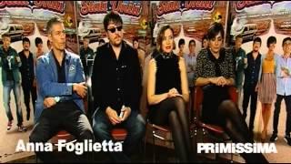 Intervista a Ambra Angiolini Ricky Memphis Anna Foglietta e Giovanni Vernia di Mai Stati Uniti