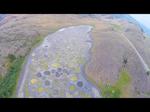SPOTTED LAKE AWESOME AERIAL