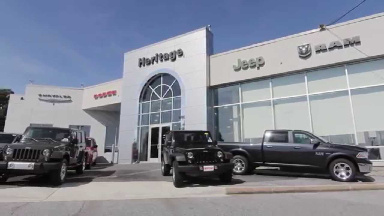 Welcome To Heritage Chrysler Dodge Jeep RAM Owings Mills