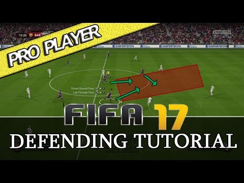 FIFA 17 DEFENDING TUTORIAL / PRO PLAYER / MOST IMPORTANT DEFENDING TECHNIQUES / DEFENDING MASTER