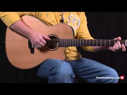 Review Demo - Takamine Pro Series P3MC Acoustic