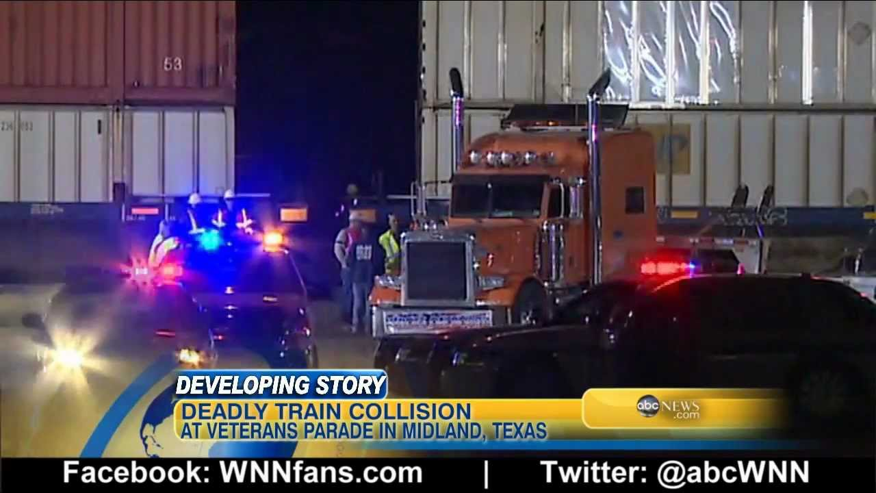 Train Hits Truck Carrying Veterans, 4 Dead