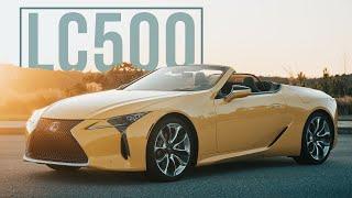 2021 Lexus LC500 Convertible: Dramatic Design Drops Its Top
