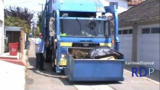 Autocar ACX New Way Mammoth Garbage Truck - City of Newport Beach