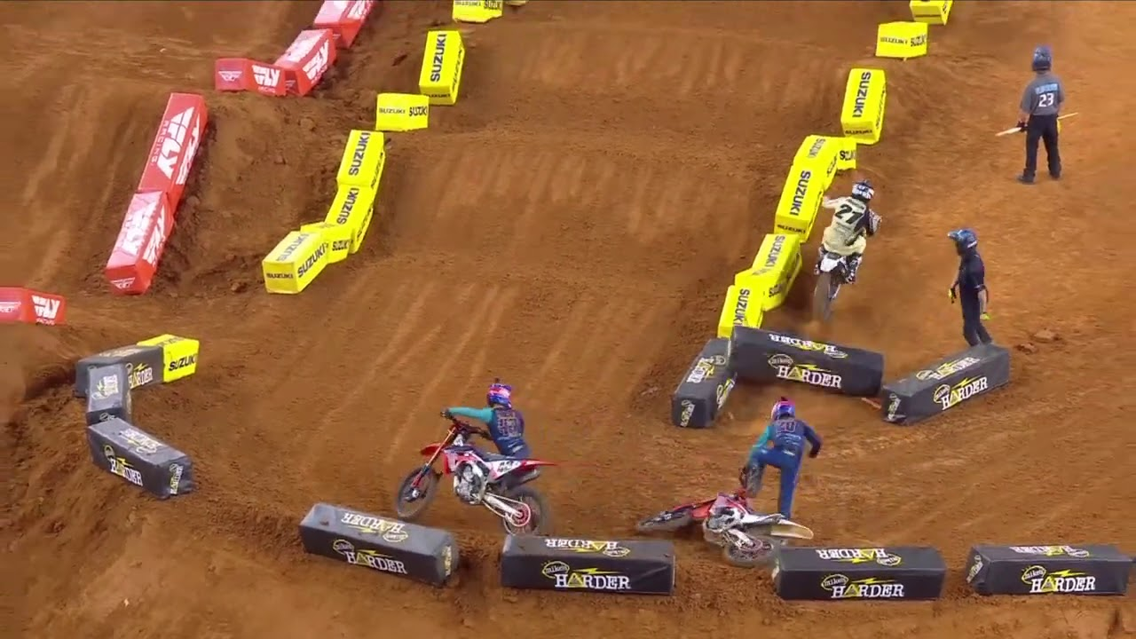 450 SX Main Event Highlights - Round 11 - Arlington