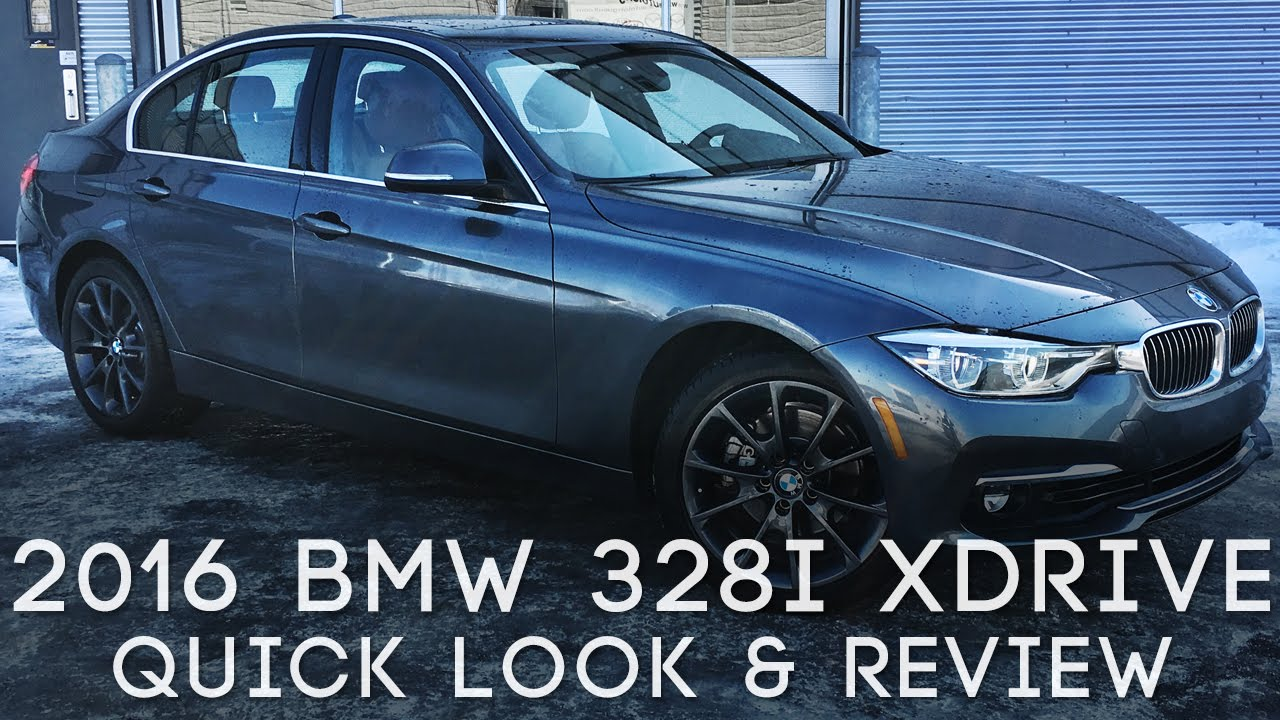 2016 Bmw 328i Xdrive Quick Look Start Up Review Revs