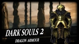 Dragon Head, Torso and Black Dragon Greatsword! (Dark Souls 2)